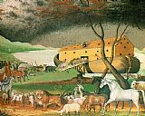 2010 Edward Hicks Noah's ark painting