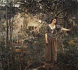 2010 Jules Bastien-Lepage Joan of Arc painting