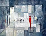 2010 Squares Of The City painting