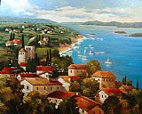2010 View from Paxos painting