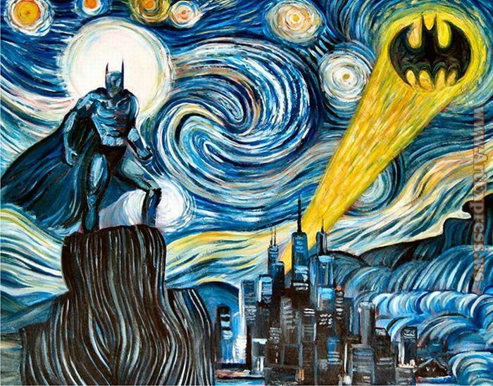 2011 Dark Starry Knight by James Hance