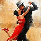 Dancer paintings - Tango dance by 2011
