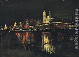 2011 The Illumination of the Kremlin painting