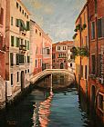 Venice paintings - venice morning by 2011