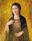 Christ paintings - Immaculate Heart of Mary by 2012
