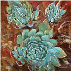 2012 Jillian David Blue Agave I painting