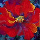 2012 Passion - Red Poppy painting