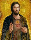 Christ paintings - Sacred Heart of Jesus by 2012