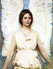 Abbott Handerson Thayer Angel painting