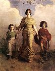 Abbott Handerson Thayer The Virgin painting
