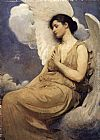 Abbott Handerson Thayer Winged Figure painting