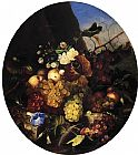 Adelheid Dietrich Still Life of Fruit and Flowers painting