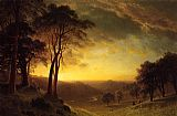 Albert Bierstadt Sacramento River Valley painting