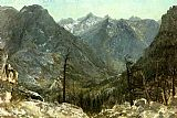 Albert Bierstadt The Sierra Nevadas painting