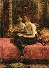 Alexei Alexeivich Harlamoff Literary Pursuits of a Young Lady painting