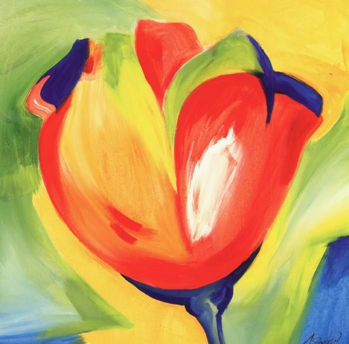 Alfred Gockel Riotous Tulips IV
