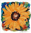 Alfred Gockel Giant Sunflower painting