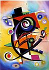 Alfred Gockel Homage to Kandinsky painting