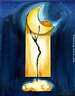 Alfred Gockel Moon Dance painting
