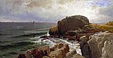 Alfred Thompson Bricher Castle Rock Marblehead painting