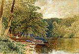 Alfred Thompson Bricher Rowboats for Hire painting