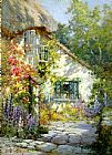Alfred de Breanski A Home in Devon painting