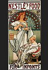 Alphonse Maria Mucha Nestles Food for Infants painting