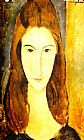 Amedeo Modigliani Portrait of Jeanne Hebuterne 2 painting