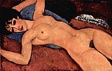 Amedeo Modigliani Red Nude painting