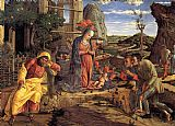 Andrea Mantegna The Adoration of the Shepherds painting