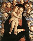 Andrea Mantegna The Madonna of the Cherubim painting