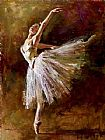 frank dicksee Canvas Prints - Ballerina
