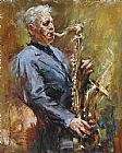Andrew Atroshenko Improvisation painting