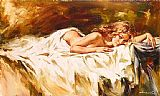 Andrew Atroshenko Intimate Thoughts painting