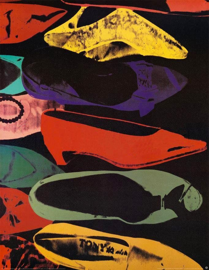 Andy Warhol Shoes 1980