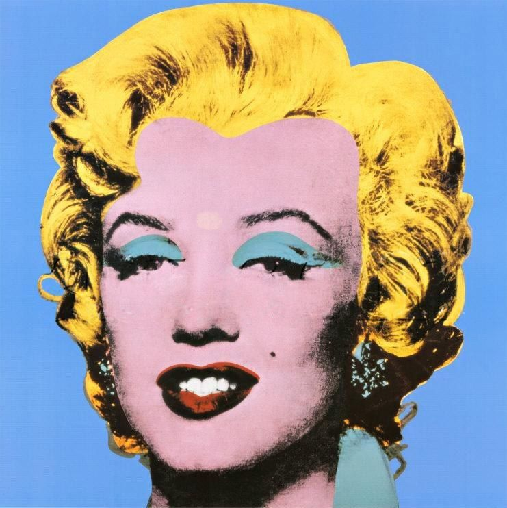 Andy Warhol Shot Blue Marilyn 1964