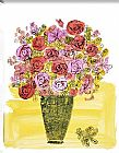 Andy Warhol Basket of Flowers painting