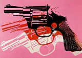 Still Life paintings - Gun 1981-82 by Andy Warhol