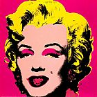 lady in pink Paintings - Marilyn Monroe Pink