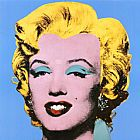 Andy Warhol Shot Blue Marilyn 1964 painting