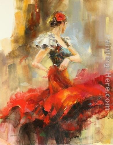 Anna Razumovskaya Rhapsody of Red 2