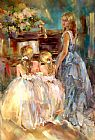 Anna Razumovskaya A Time to Remember painting