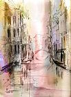 Anna Razumovskaya City I've never been 4 painting