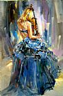 Anna Razumovskaya Dancing With a Violin 1 painting
