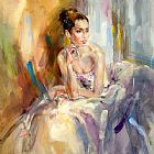 Anna Razumovskaya Soft as Silk painting