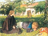 Arthur Hughes Home from Sea painting
