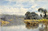 Benjamin Williams Leader A Fine Day on the Thames painting