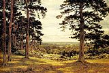 Benjamin Williams Leader A Peep Through The Pines painting