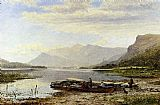 Benjamin Williams Leader Derwentwater From Ladore Morning With Skiddaw In The Distance painting
