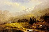 Benjamin Williams Leader The Wengen Alps Morning In Switzerland painting